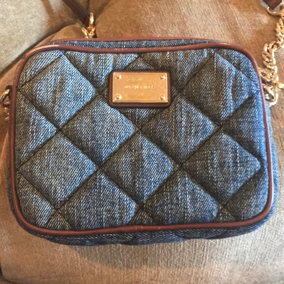 fef1a061c35 Michael Kors Bags   Small Jean Cloth Shoulder Bag   Poshmark